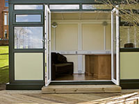 Garden office conservatories