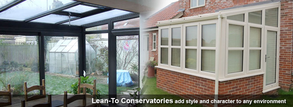 Beautiful Lean to conservatories